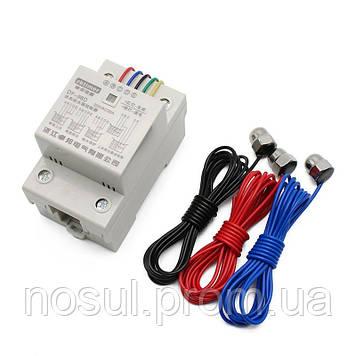 DF-96D 220V 10A DIN интеллектуальный автоматический контроллер выключатель насоса реле +3 датчика регулировка
