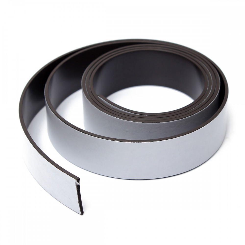 Магнитная лента с клеевым слоем 20мм х 620мм набор 20 шт.