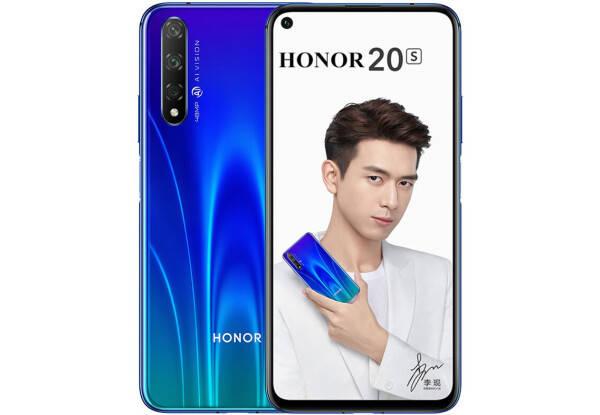 Huawei Honor 20S 6/128Gb blue, фото 2