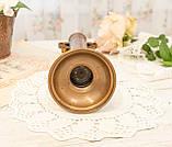 Оригинальная медная ваза с ручками, медная посуда, медь Германия, 27 см, фото 8