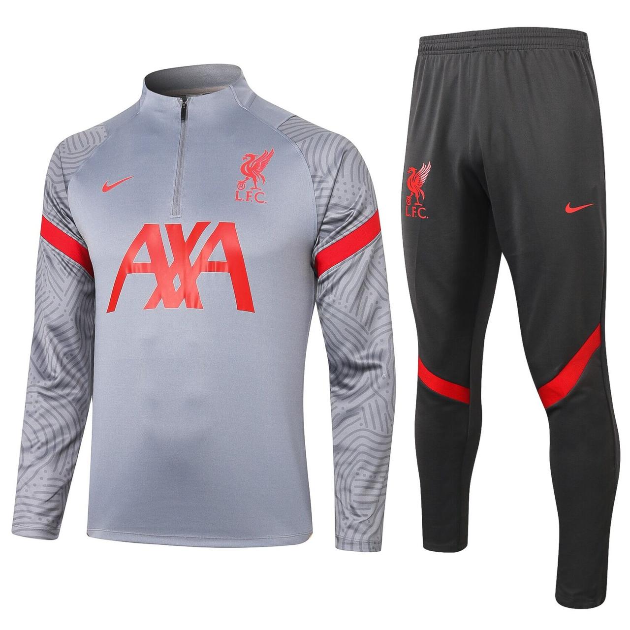 Тренировочный костюм FC Ливерпуль Nike 2020/21 light grey