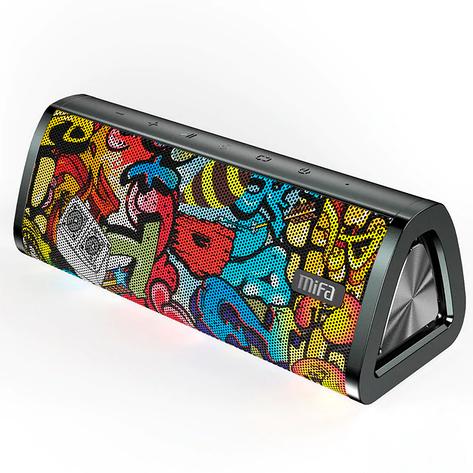 Колонка Mifa A10+ black-graffiti 20 Вт IPX7 Bluetooth 5.0, фото 2