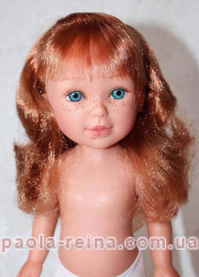 Лялька Vestida de Azul, Пауліна рудий із чубчиком, D-80