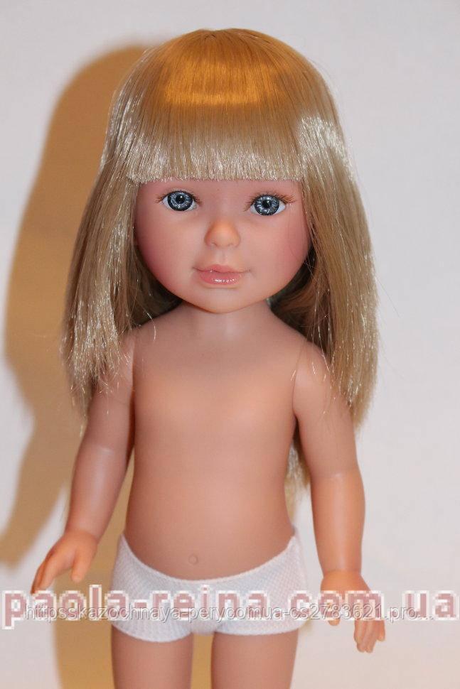 Кукла Vestida de Azul Паулина, блондинка прямые волосы челка, 33 см