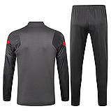 Тренировочный костюм FC Ливерпуль Nike 2020/21 grey, фото 2