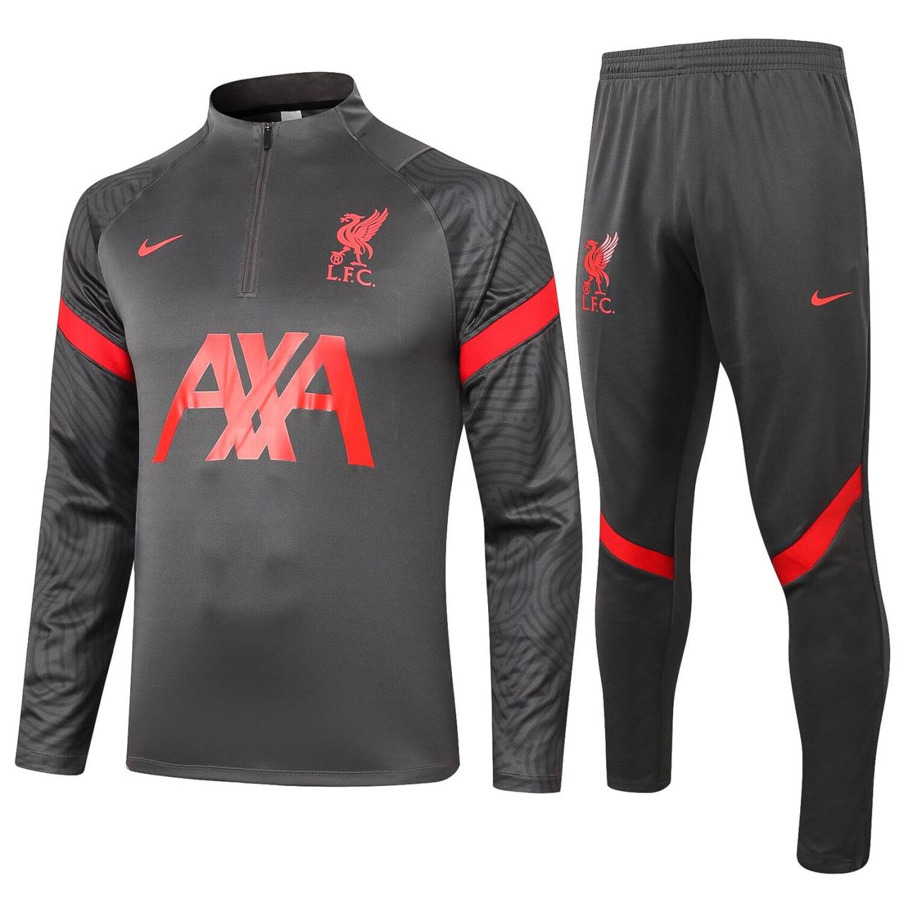 Тренировочный костюм FC Ливерпуль Nike 2020/21 grey
