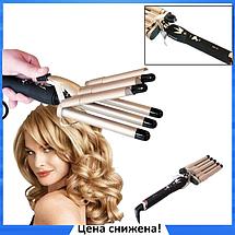 Плойка для волос Gemei GM-2933 Пять волн - щипцы для завивки волос, фото 2