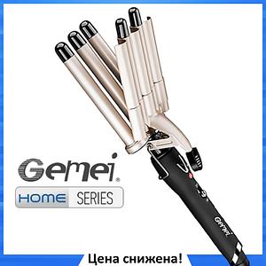 Плойка для волос Gemei GM-2933 Пять волн - щипцы для завивки волос