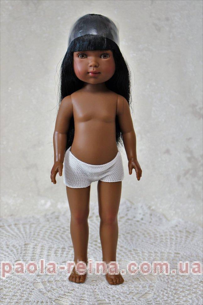 Кукла Vestida de Azul Карлотта  мулатка, D-741, без одежды, 28 см