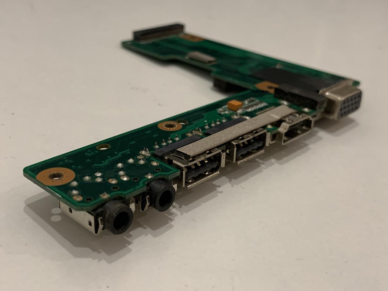 Запчасти для ноутбука Asus K52D - Аудио, HDMI, VGA, USB доп. плата 60-NZll01000-B02