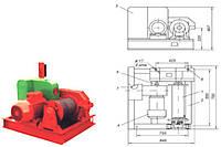 Лебедка  ТЭЛ-1 тяговая электрическая
