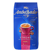 Кофе в зернах 1 кг Ambassador Strong Польша