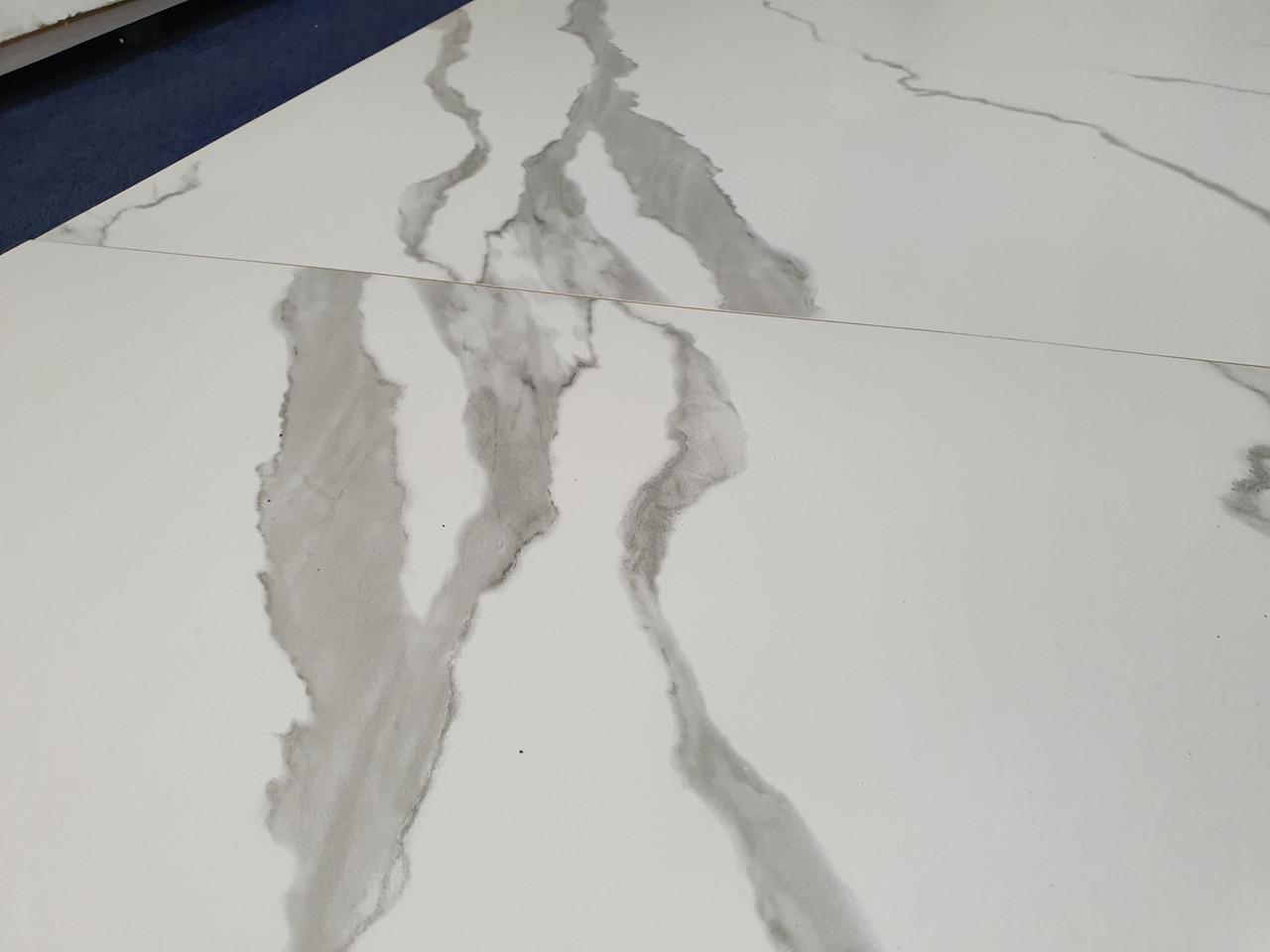 Плитка для пола  CALACATTA VERA 600х600 матовая бела