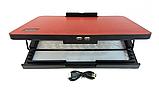 Подставка охлаждающая для ноутбука 2 вентилятора, диагональ 9-17 дюймов красный N99, фото 2