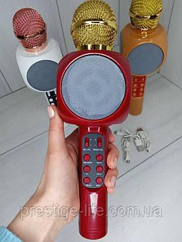 Беспроводной караоке микрофон Wster WS-1816 Красный