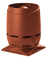 Вентиляционный выход VILPE 250 S FLOW, основание 400 х 400 мм Кирпичный