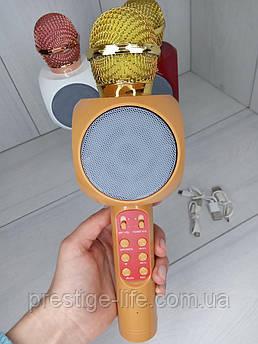Беспроводной караоке микрофон Wster WS-1816 Оранжевый