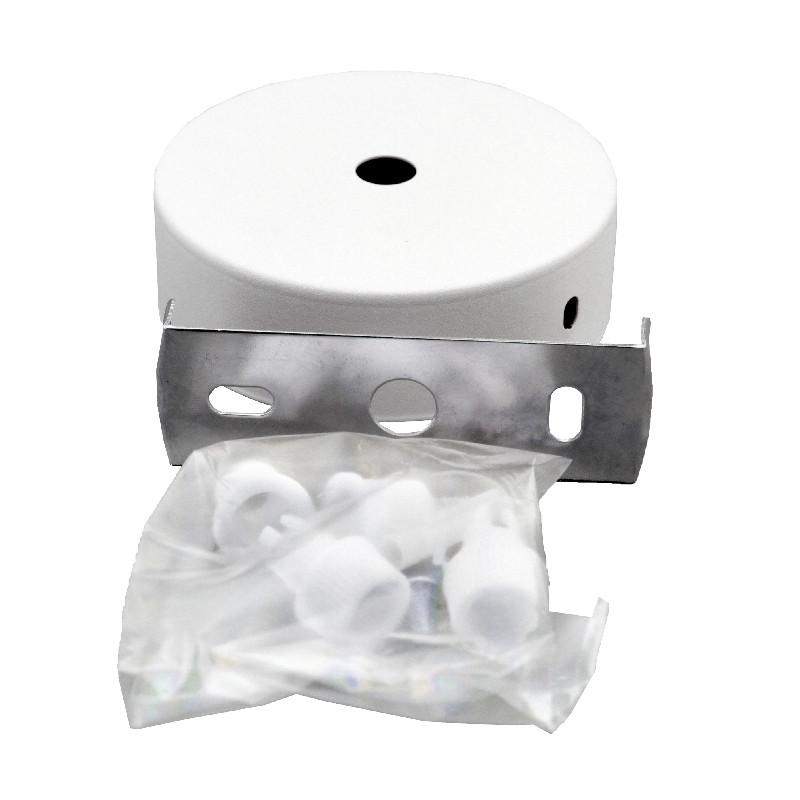 ElectroHouse Крепление потолочное для направленного светильника белое