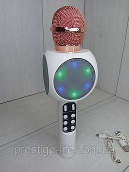 Беспроводной караоке микрофон Wster WS-1816 Белый