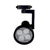 ElectroHouse LED светильник трековый 25W черный 4100K 2000Lm, фото 1