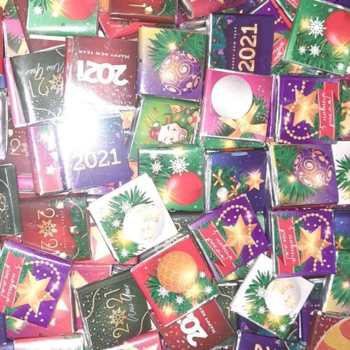 """Міні шоколадки """"Новий рік"""" 1,3 кг"""