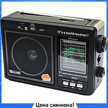 Радиоприемник GOLON RX-9966UAR - Большой портативный радиоприёмник - колонка MP3 с USB и аккумулятором, фото 2