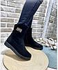 Ботинки женские зима классика замш, фото 5