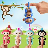 Finger Monkey Интерактивная игрушка ручная обезьянка на палец