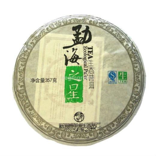 """Шен Пуэр """"Ecological Puer"""", 357 гр., Фабрика Юнь Хэ/Пу Ю"""