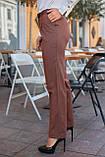Брюки женские коричневого цвета, фото 3