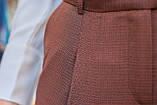 Брюки женские коричневого цвета, фото 4