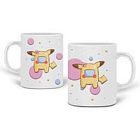 Кружка Амонг Ас Покемон Пикачу (Among Us Pokemon Pikachu) 330 мл Чашка Керамическая (20259-2419), фото 1