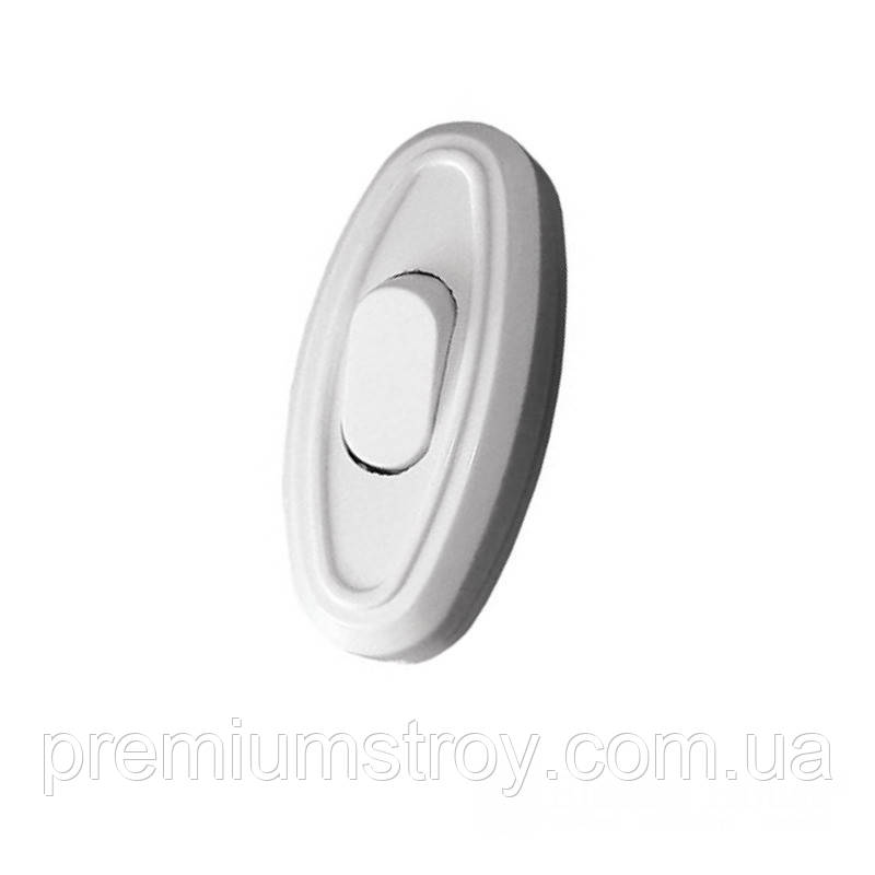 ElectroHouse Выключатель для бра белый Garant