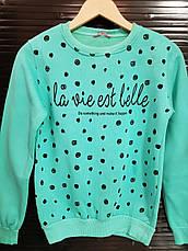 Свитшот на байке для девочек 152,158,164,170 роста LILLE, фото 3