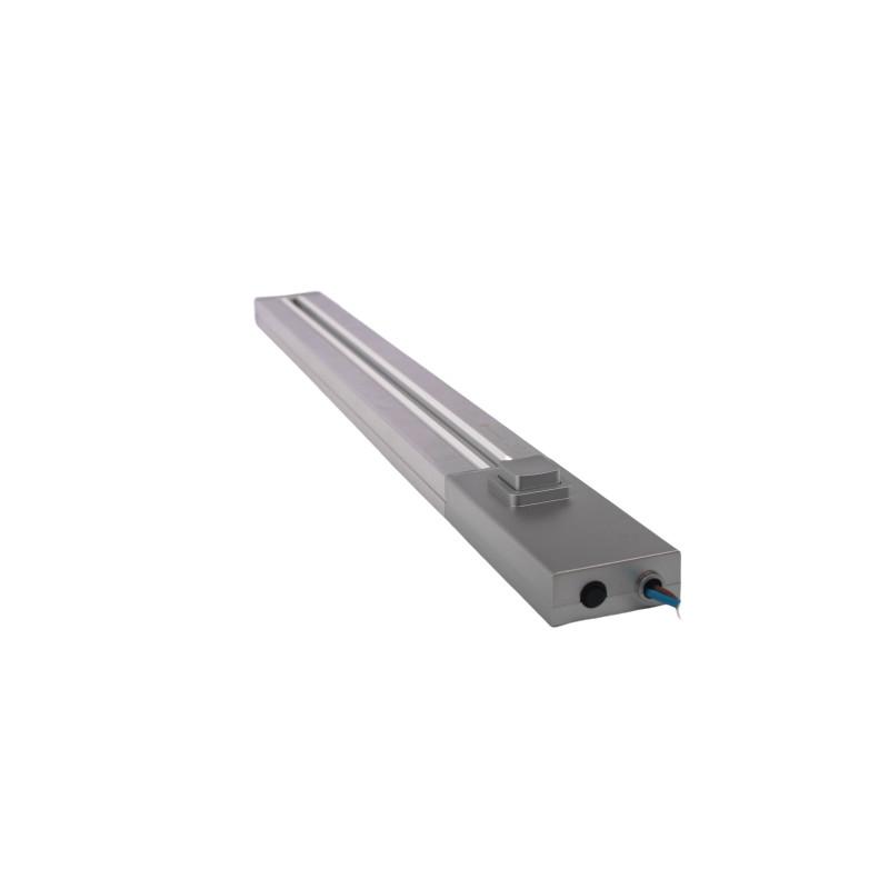ElectroHouse Трековая рейка серебро 1м