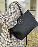 Женская кожаная сумка polina&eiterou, фото 3