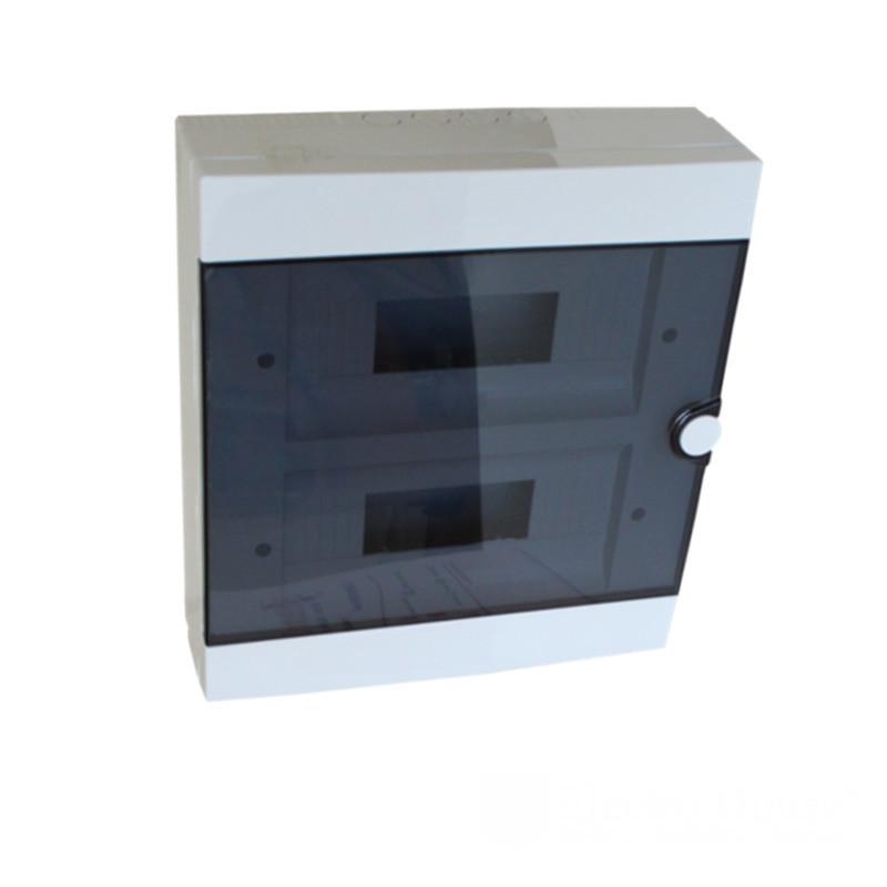 ElectroHouse Бокс пластиковый модульный для наружной установки на 24 модулей
