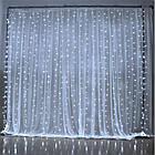 Гирлянда штора водопад светодиодная, 500 LED, Белая, прозрачный провод, 3х2м., фото 7