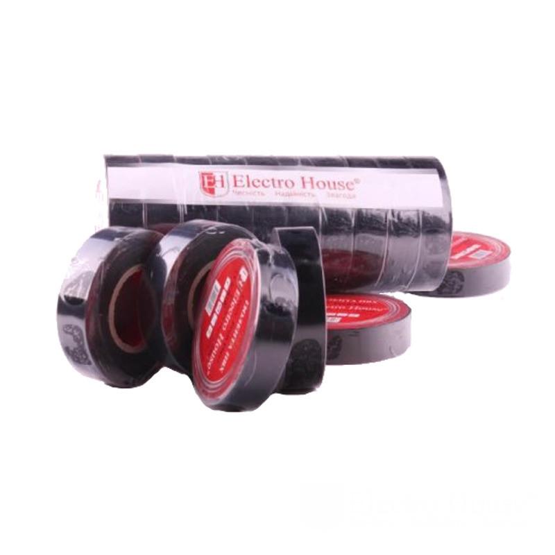 ElectroHouse Изолента черная 0,15мм х 18мм х 17м