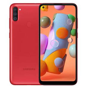 Samsung Galaxy A11 (SM-A115F) 2/32Gb Red UA-UCRF - Официальный / Гарантия 1 год