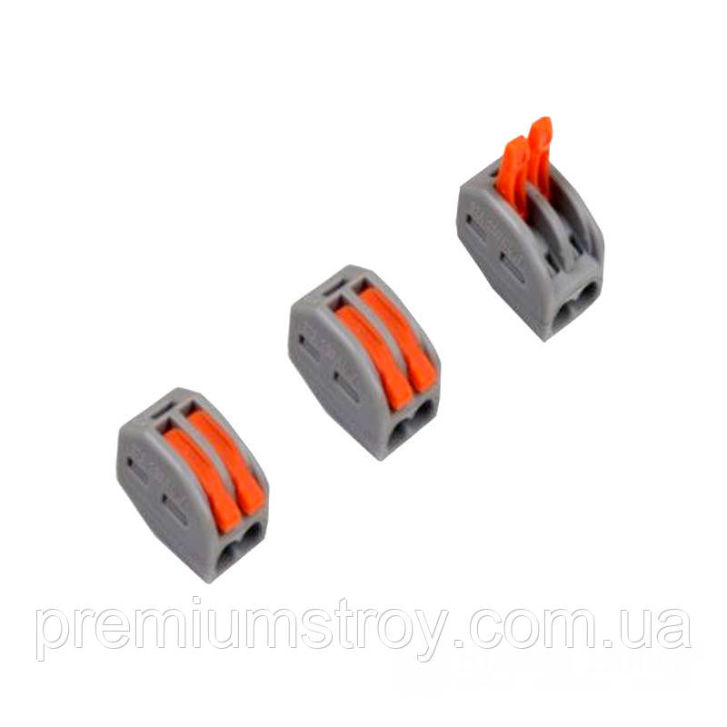 ElectroHouse Коннектор на два контакта (400В, 32А) самозажимный