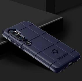 Противоударный чехол Rugged Shield для Xiaomi Mi 10 Pro