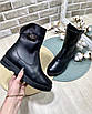 Ботинки женские зима классика на меху, фото 2