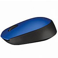 Мышь Logitech M171 беспроводная, 1000dpi, USB, синий (910-004640), фото 2