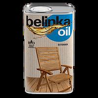 Масло для древесины (био пропитка) для наружных работ Belinka oil exterier 0.5 л.