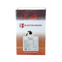 ElectroHouse Кабель UTP 4х2х0,51 CCA черный (наружный монтаж, со стальной проволокой), фото 1
