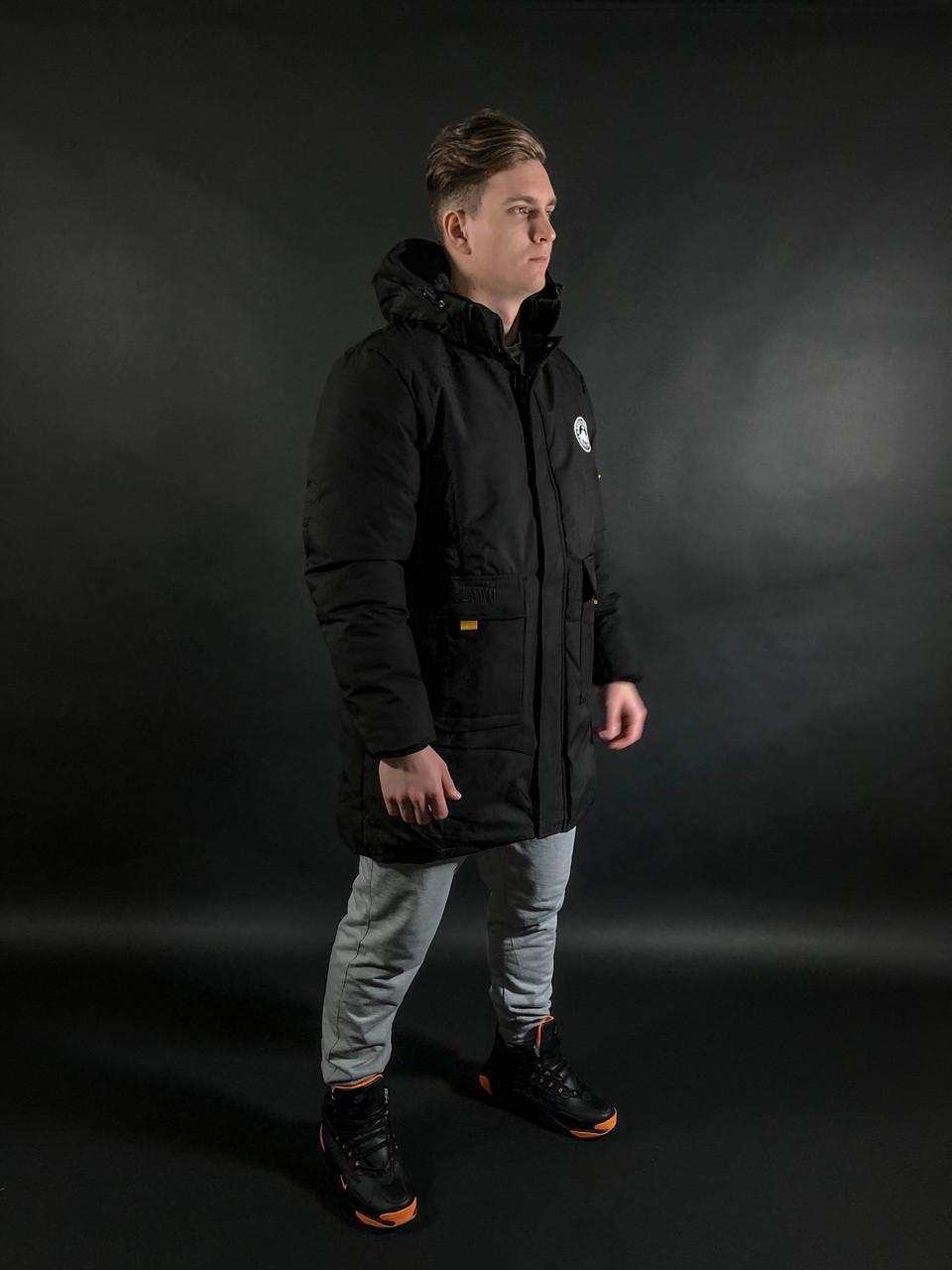 Зимняя куртка RxB Black Winter