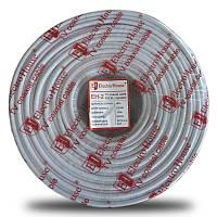 ElectroHouse Телевизионный (коаксиальный) кабель  RG-6U CCS 1,02 Cu белый ПВХ EH-2