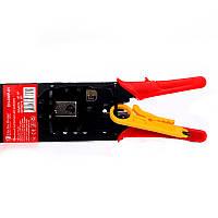 ElectroHouse Обжимной инструмент для штекеров 4P 6P 8P, фото 1