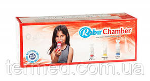 Спейсер Rabir Chamber з маскою для дітей від 0 до 18 міс